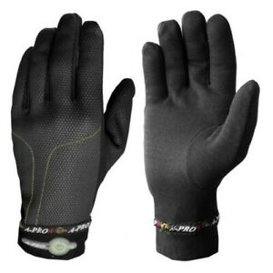 Under Gloves Heated Windproof Winter Motorcycle Scooter Custom Snowboard Black