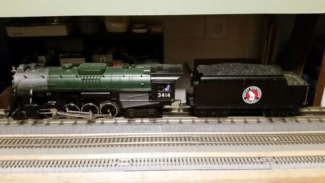 Lionel O Gauge 3 Rail. 2-8-4 Berkshire Great Northern with Railsounds.