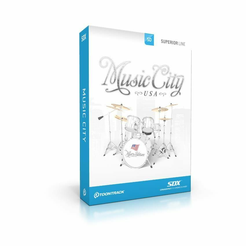 TOONTRACK SDX Music City Download