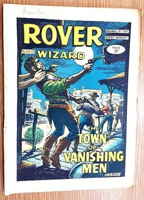 Mits Rover And Wizard 14th November 1964