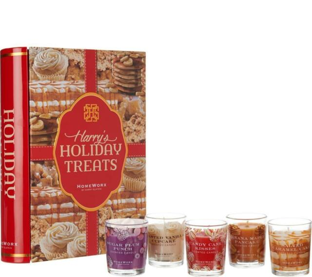 New HOMEWORX by Harry Slatkin Set of 2 or 3 Votive Candles YOUR CHOICE of SCENT