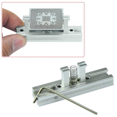 BGA Direct Heat Stencil Template Holder Jig BGA Reball Holder Support Station