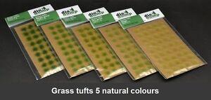 DioDump-DD011-K-6mm-realistic-grass-tufts-VALUE-PACK-200-pcs-diorama-scenery