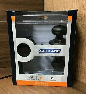 Schlage Security Set Single Cylinder Deadbolt /& Keyed Entry Knob Aged Bronze