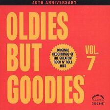 Oldies but Goodies, Vol. 7 [CD #1] by Various Artist...