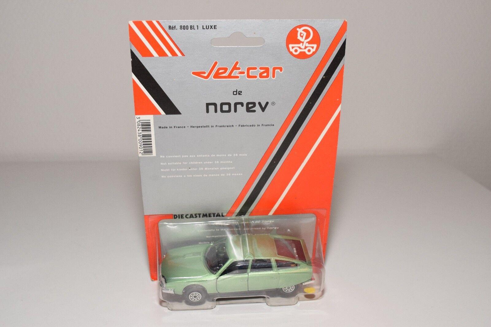 B NOREV 845 CITROEN CX 2200 METALLIC LIGHT GREEN MINT BOXED