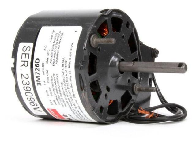 Dayton 3M726 Electric Motor Model