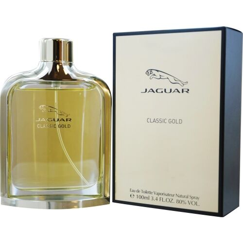 Jaguar Classic Gold Eau De Toilette Spray For Men 34 Ounce For Sale