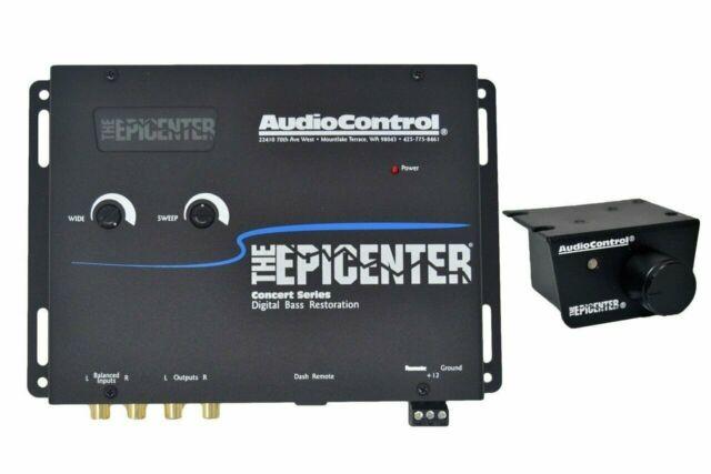 AudioControl Epicenter Digital Bass Restoration Processor Black
