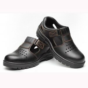 Summer-Men-039-s-Work-Safety-Shoes-Steel-Toe-Breathable-Anti-Puncture-Boots-Sandals