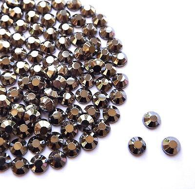 Diamante Me Sapphire Metal Rhinestuds Hot fix//iron on AAA quality 2,3,4mm x 500