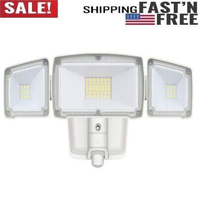 Certified Dusk to Dawn Super Bright LED Flood Light Outdoor ETL Security Light