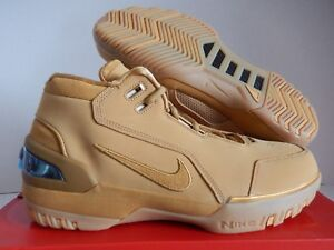 Details about NIKE AIR ZOOM GENERATION LEBRON ASG QS ALL STAR GAME WHEAT SZ 8 [AQ0110 700]