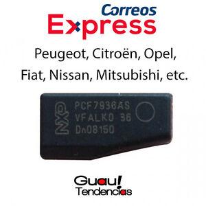 Transponder-ID46-TP12-TPX4-Chip-Llave-Cle-Peugeot-Citroen-PCF7936AS