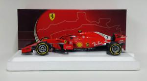 Bbr 1 18 Modell Statisch Diecast Auto Ferrari F1 Sf71-h Raikkonen Australien