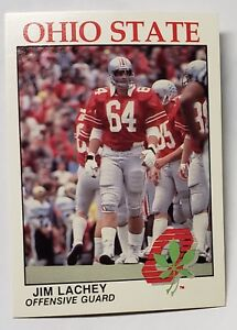 Kroger Sidney Ohio >> Details About Jim Lachey Ohio State University Kroger Football Card