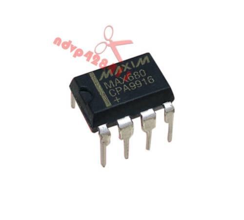 +5V a 10V ± MAX680 convertidores de tensión DIP8 Manu Maxim encapsulación MAX680CPA