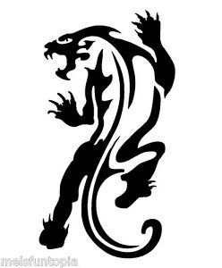 5651cf358 TAG Body Art Pack of 5 Panther no.7- 3 Part Vinyl Tattoo Stencil ...