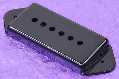 lindy fralin black p90 dog ear pickup cover the world 39 s best dogear p 90 cover ebay. Black Bedroom Furniture Sets. Home Design Ideas