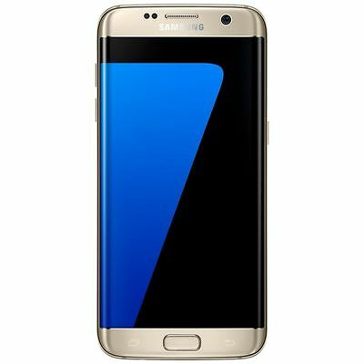Sim Free Samsung Galaxy S7 Edge 5.5 Inch 32GB 12MP 4G Android Mobile Phone Gold