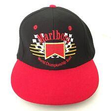 Vintage MARLBORO WORLD CHAMPIONSHIP TEAM Hat - Racing - Formula One - Indy 500
