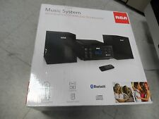 RCA RS2929B Bluetooth Micro Home Stereo System Black New