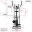 miniatura 31 - Deluxe 2-in - 1 Cross Trainer & Cyclette Allenamento di cardio fitness con sedile