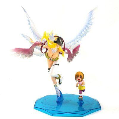 Anime Digimon Adventure 25cm Angewomon /& Yagami Hikari PVC Figure Toy New NoBox