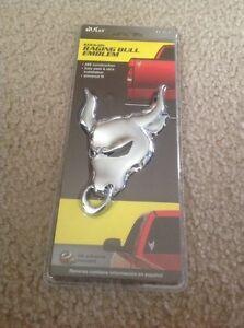 Bully Pilot Automotive Raging Bull Emblem ABS Plastic