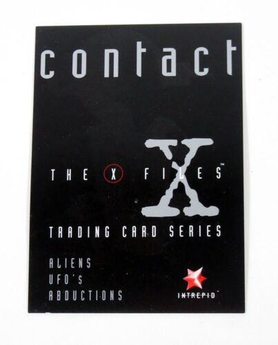 50 Nm//Mt Lot of 1997 Intrepid The X-Files Contact Promo Card Unnumbered