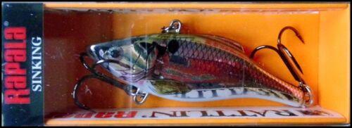 RARE RAPALA RATTLIN RAP RNR 7 cm SPECIAL RSL color Live River Shad