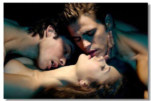Poster Vampire Diaries Seasons 5 6 Ian Somerhalder Art Wall Print 506