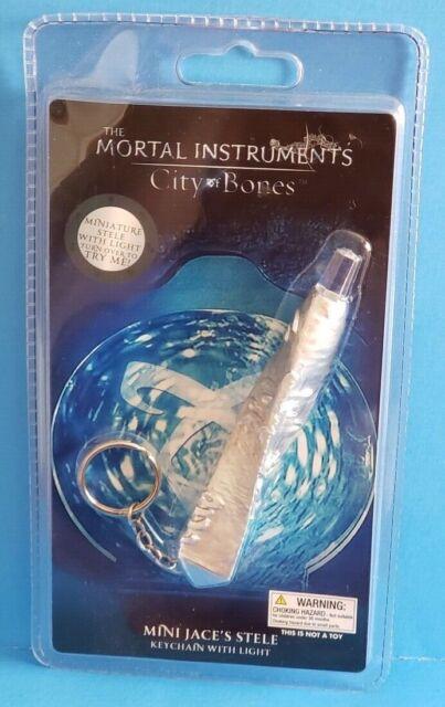 The Mortal Instruments City of BonesKey Chain Mini Jaces Stele with Light