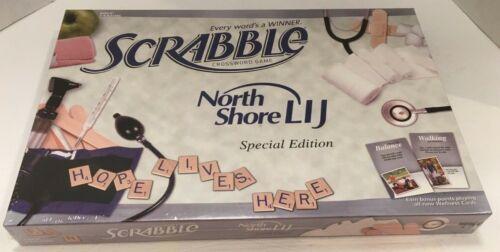 SCRABBLE NORTH SHORE LONG ISLAND JEWISH HOSPITAL DOCTOR/'S SPECIAL EDITION