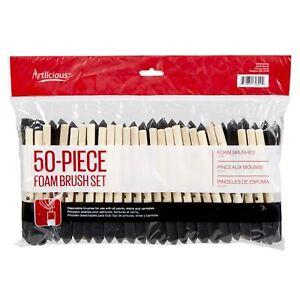 Artlicious-Foam-Paint-Brush-Set-1-Inch-50-Pack