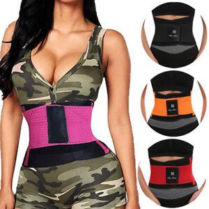 8f4fad10570 HOT Best Waist Trainer Women Sauna Sweat Thermo Yoga Sport Shaper ...