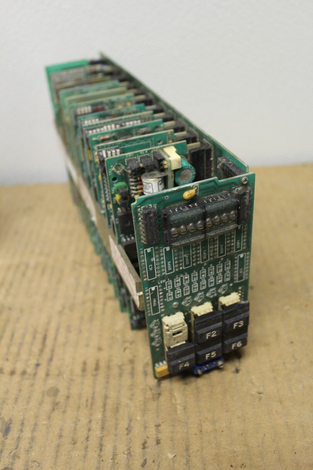 TURNBULL TCS 8 LOOP CONTROLLER COMMUNICATIONS MULTIPLEXER MOTHER BOARD 076034 2