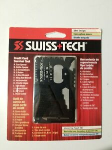 Swiss+Tech Credit Card Survival Multi Tool NEW IN PACKAGE Camping Hiking Outdoor