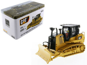 CAT-CATERPILLAR-D7E-TRACK-TYPE-TRACTOR-DOZER-1-50-MODEL-BY-DIECAST-MASTERS-85555