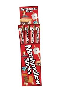 Marshmallow-Sticks-Wood-Roasting-Campfire-Wholesale-Lot-in-Floor-Display-Case