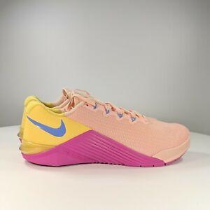 Una vez más yeso Florecer  Nike Metcon 5 para Mujer de Entrenamiento zapatos talla 9 coral/rosa/Topacio  Dorado AO2982-668   eBay