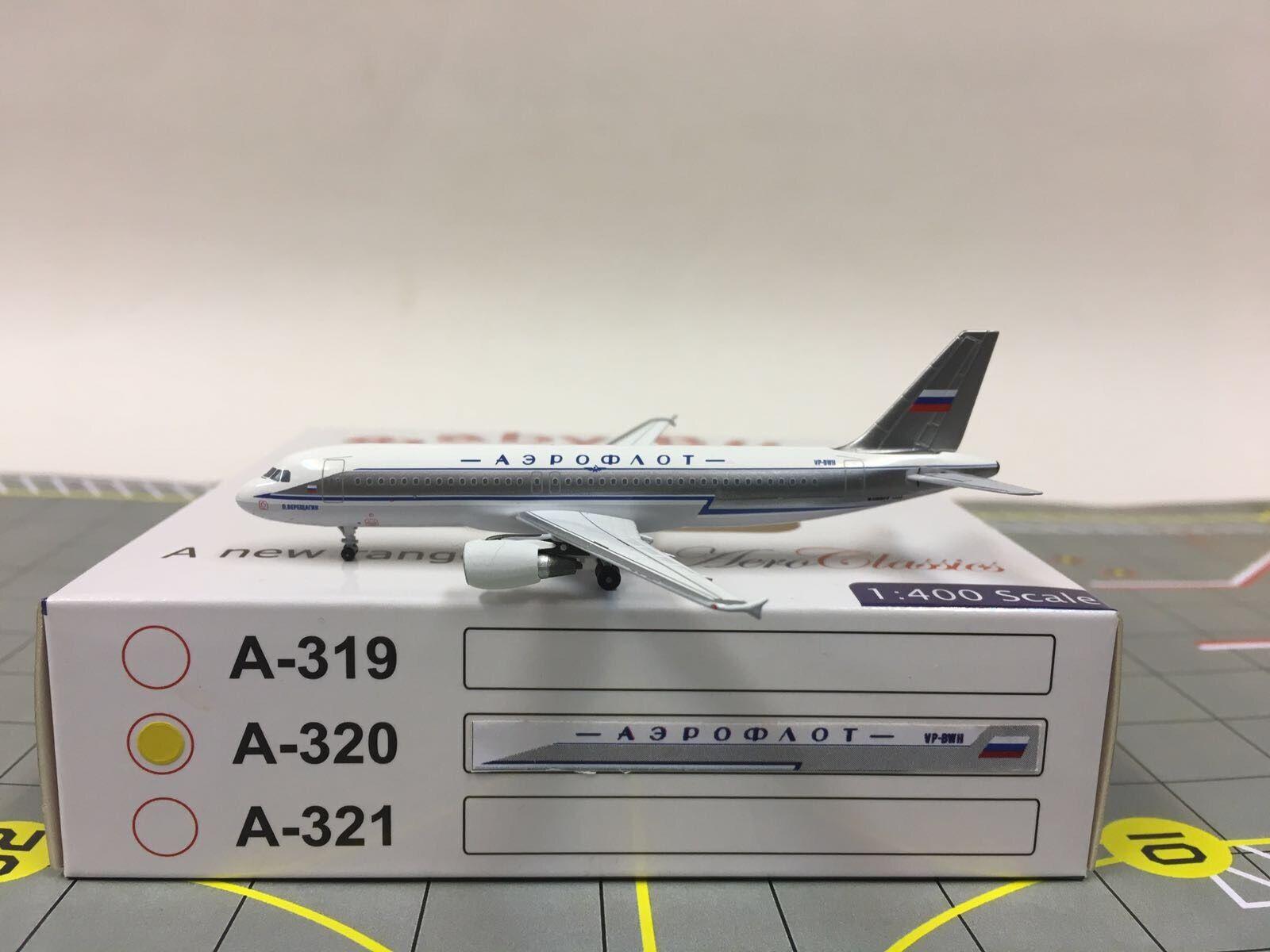 Aeroclassics 1 400 Aeroflot Airbus A320 A320 A320  Retro colors  VP-BWH db8e2c