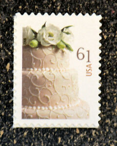 wedding cake stamp 2009usa 4398 61c wedding cake stamp mint nh postage 25599