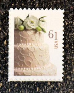 2009usa 4398 61c wedding cake stamp mint nh postage stamp ebay. Black Bedroom Furniture Sets. Home Design Ideas