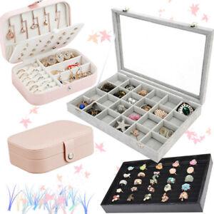 PU-Jewelry-Box-Storage-Organizer-Case-Ring-Earring-Necklace-Watch-Leather-Box