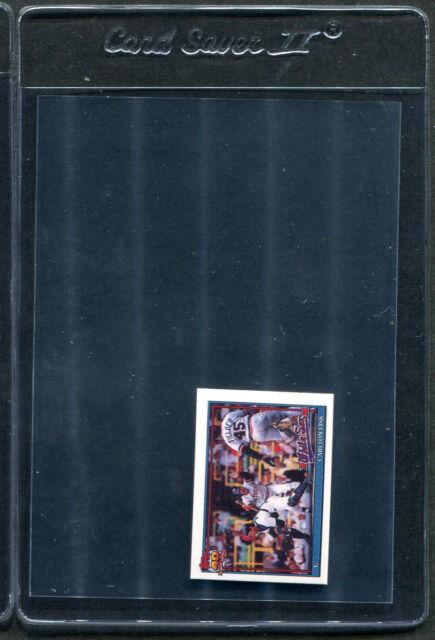 1991 Topps Micro Carlton Fisk AS #393 Mint