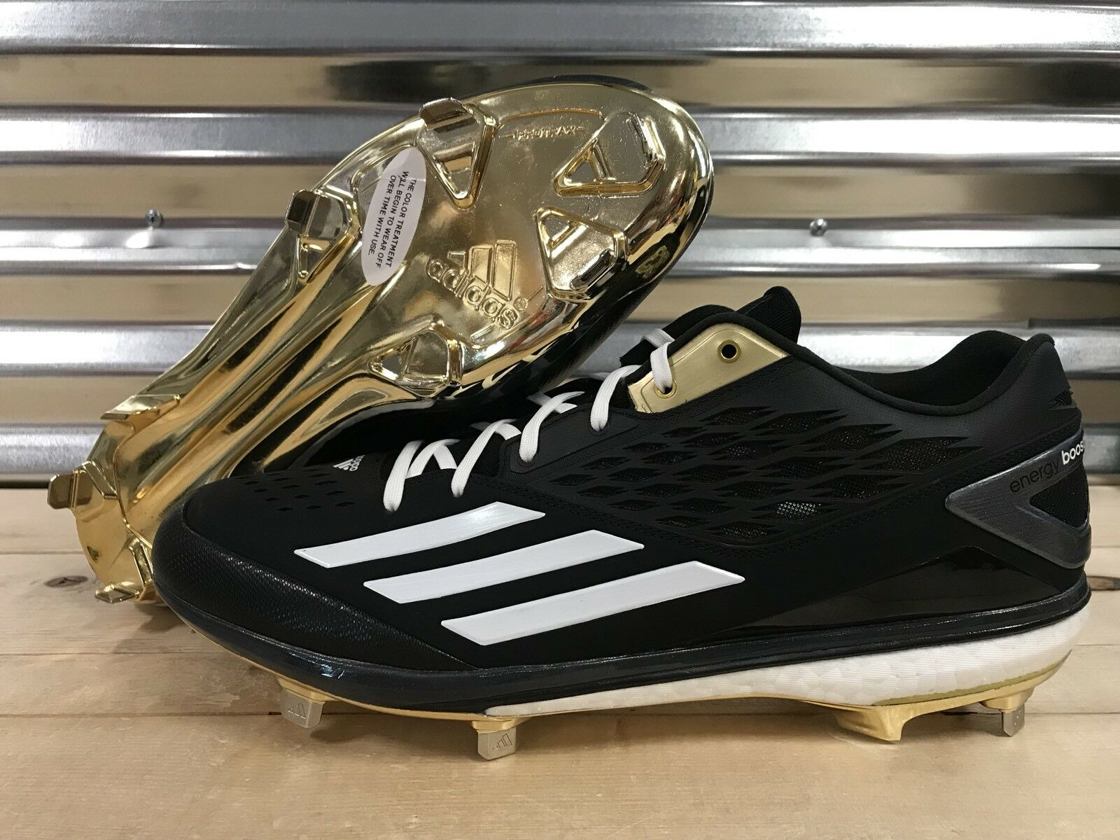 Adidas energia impulso icona james baseball shields pe scarpe da baseball james sz 12,5 (aq8405) 7da43c