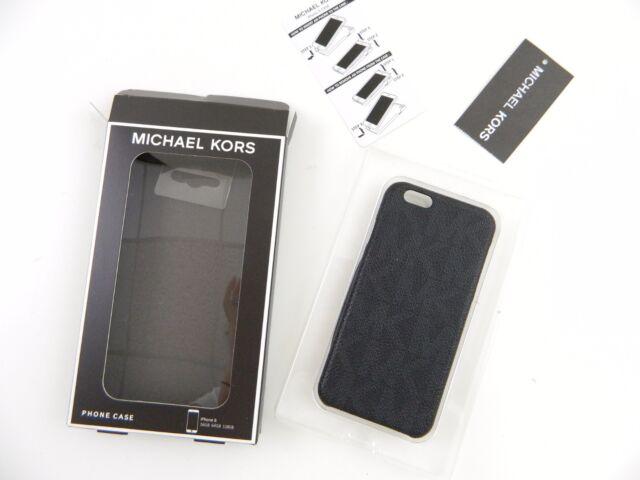 Michael Kors iPhone 6 6s Phone Cover Hard Case Wrap Around PVC Black