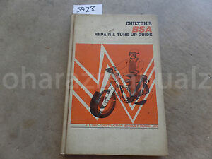 Thru-1972-BSA-Repair-amp-Tune-Up-Guide-Manual-OEM