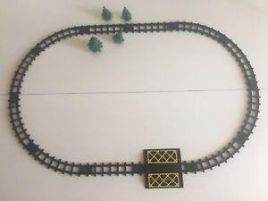 Matchbox-Lesney-Eisenbahn-RAILWAY-Schienen-Gleise-Kreis-Zug-Train-selten